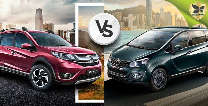 Mahindra Marazzo And Honda BR-V Detailed Comparison