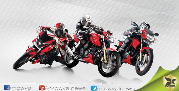 TVS Launched The Apache RTR Series With New Matte Red Colour