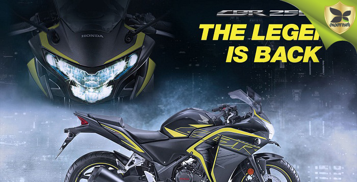 Honda Again Launched CBR250R In India