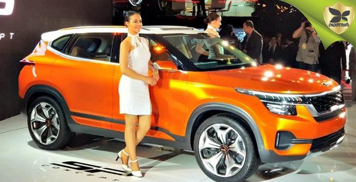 2018 டெல்லி வாகன கண்காட்சி: அறிமுகப்படுத்தப்பட்டது புதிய கியா SP SUV