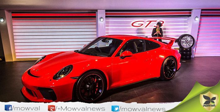 Porsche 911 GT3 Launched With Price Of Rs 2.31 Crore