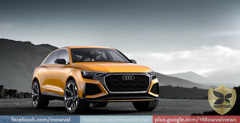 Geneva Motor Show 2017:Audi Showcases Q8 Sport Concept