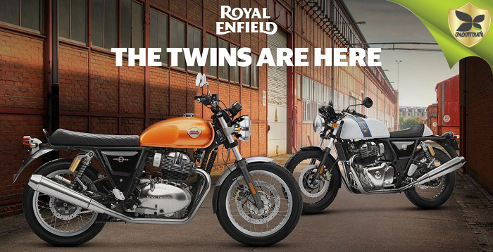 Color Options Of Royal Enfield Interceptor 650 And Continental GT 650 Twins