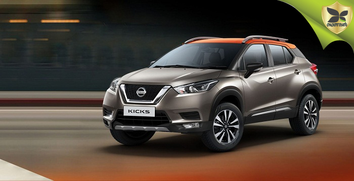 Nissan Kicks Bookings Open In Showrooms