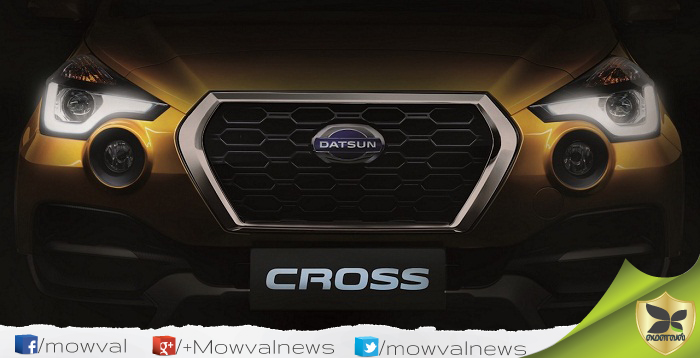 Datsun Cross To Be Debuts On January 18, 2018