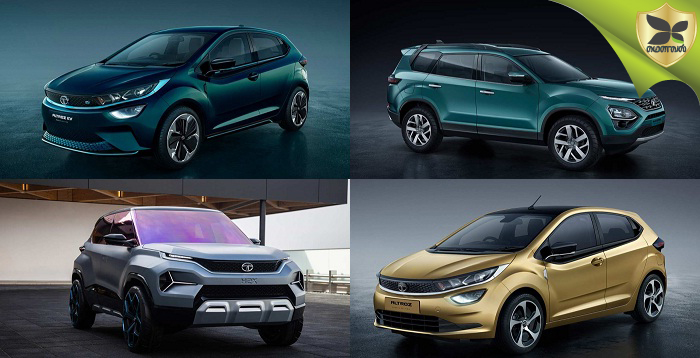 Image Gallery Of Tata Altroz, Altroz EV, Buzzard And H2X Concept