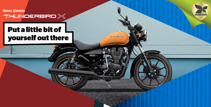 Image Gallery Of Royal Enfield Thunderbird 500X And 350X