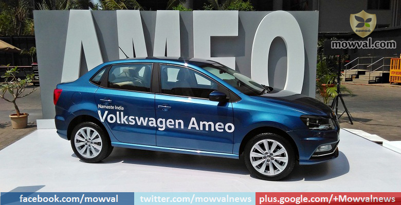 Volkswagen commences Ameo's booking on May 12