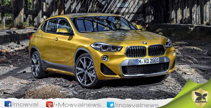 BMW X2 Officially Unveiled