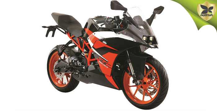 KTM RC200 Launched In New Colour Scheme
