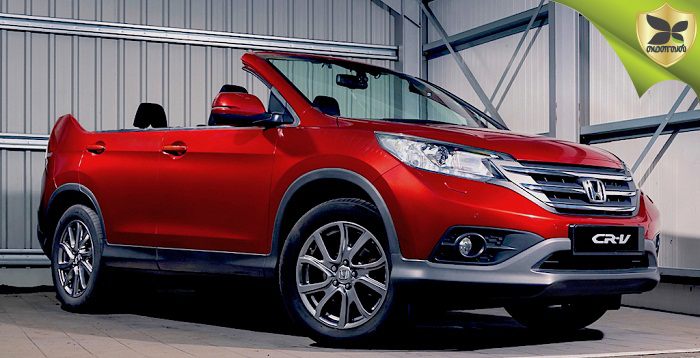 Honda CR-V Roadster Open Top Version Revealed