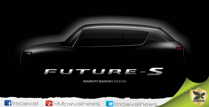 All New Maruti Suzuki Future S Compact SUV Concept Teaser Revealed