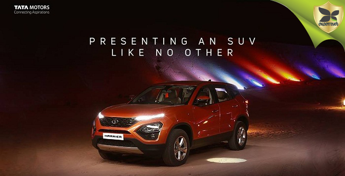 Tata Harrier Specifications And Features Revealed Ahead Launch