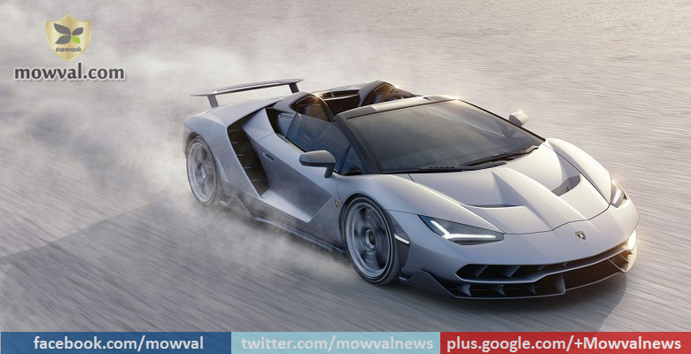 Lamborghini Centenario open top version unveiled