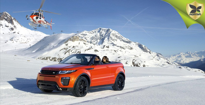 Land Rover Range Rover Evoque Convertible Launched In India