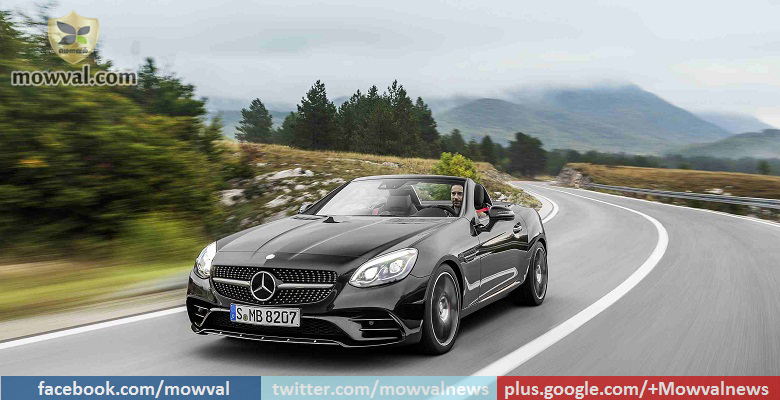 Mercedes Benz-AMG SLC 43 to be launched on July 26 in India