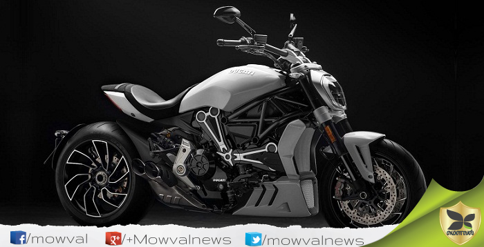 The New White Color Ducati XDiavel