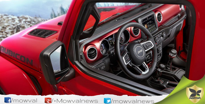 All New 2018 Jeep Wrangler Interior Revealed In First Time