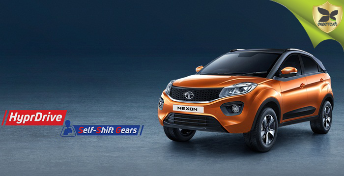 Tata Nexon AMT launched in India at Rs 9.54 lakhs