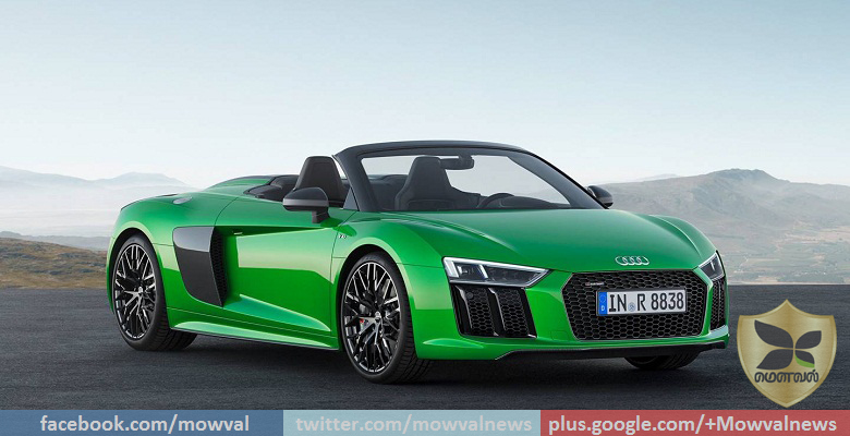 Audi R8 Spyder V10 Plus breaks cover