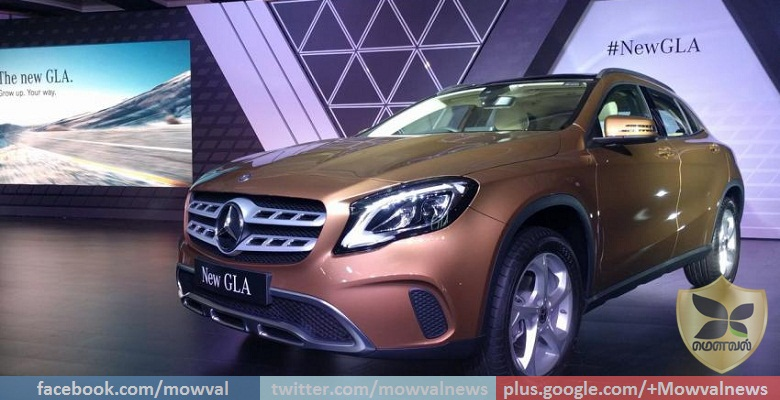 2017 Mercedes-Benz GLA Facelift Launched With Starting Price Of Rs 30.65 Lakh