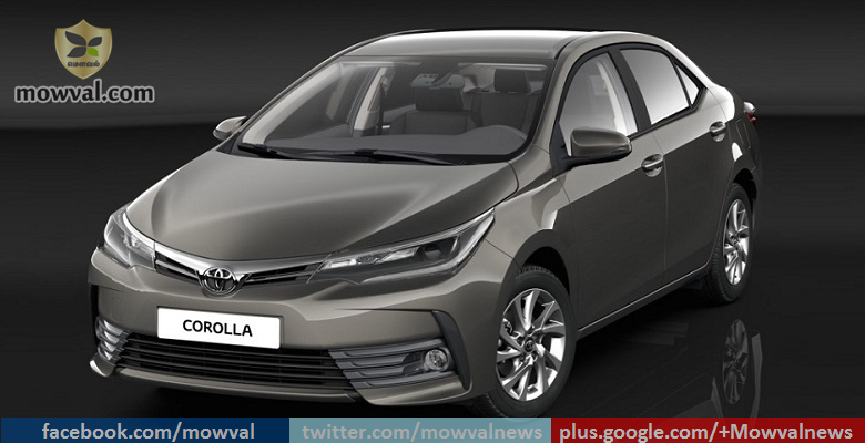 2017 Toyota Corolla Facelift Officially Revealed