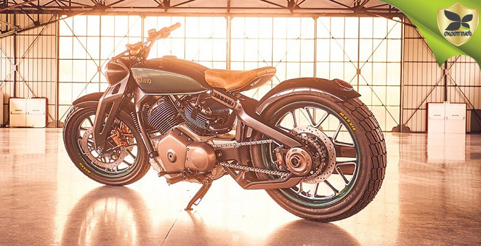 EICMA 2018: All New Royal Enfield Concept KX Revealed