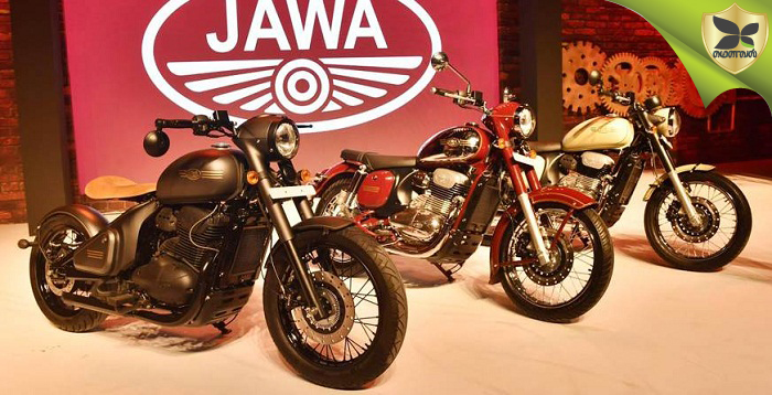 Jawa Motor Bike Deliveries Commence