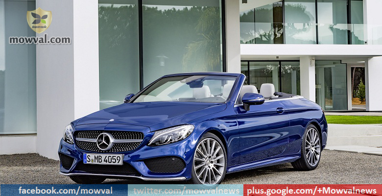 Mercedes Benz C300 Cabriolet launching later this year 2016