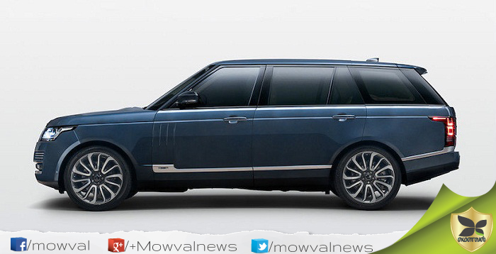 JLR Range Rover Autobiography by SVO Bespoke Launched In India