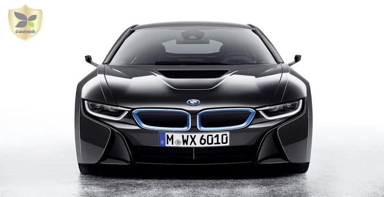 பக்கவாட்டு கண்ணாடி இல்லாத i 8 காரை வெளிப்படுத்தியது BMW