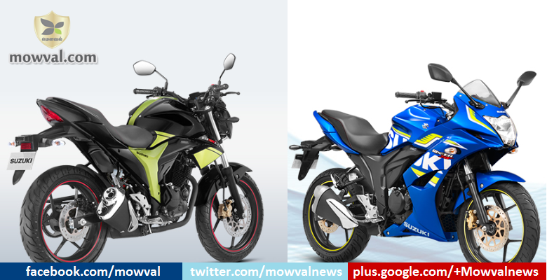 Suzuki Gxxer and Gixxer SF rear disc brake variants launched