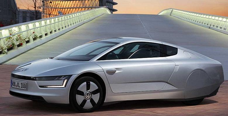 Volkswagen - XL 1 gives 100 kilometer mileage for 1 liter