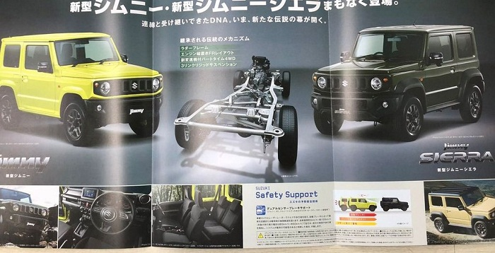 2019 Suzuki Jimny Brochure Leaked Through Online