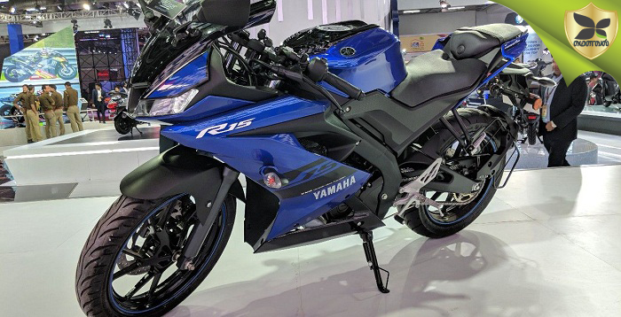 2018 Delhi Auto Expo: Yamaha YZF-R15 v3.0 Launched