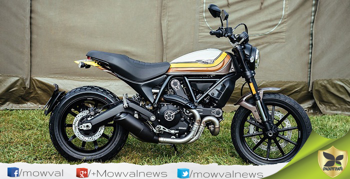 Ducati Scrambler Mach 2.0 Launched In India With Price Of Rs 8.52 lakh