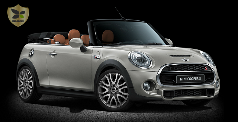 Mini cooper convertible launched at the price of Rs.34.9 lakh