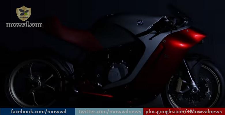 MV Agusta-Zagato F4Z Breaks Cover Through Teasar