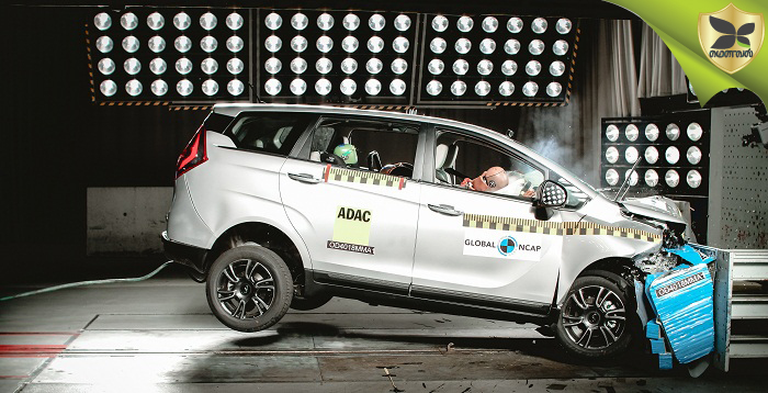 Mahindra Marazzo Scores Four Star Rating In Global NCAP