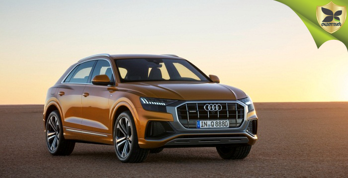 All New Audi Q8 SUV Unveiled