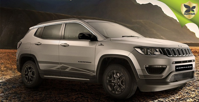 Jeep Compass Bedrock Limited Edition Launched At Rs 17.53 Lakh