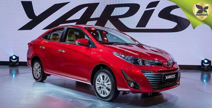 2018 Delhi Auto Expo: Toyota Yaris Unveiled