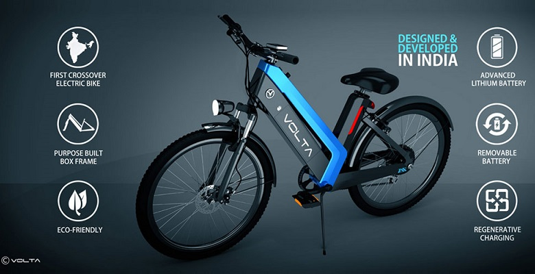 Indias First Break Through Cross Over Electric Bike
