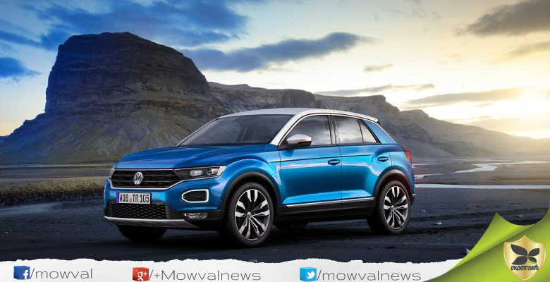 Volkswagen T-Roc Compact Crossover Revealed