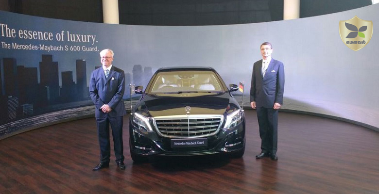 Mercedes launched the Maybach S600 Guard at price of Rs 10.5 crore