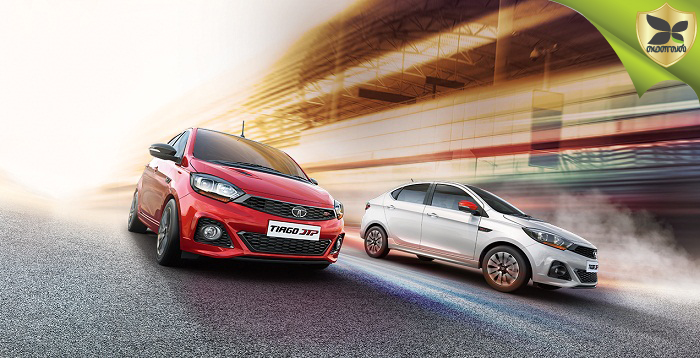 Tata Tiago and Tigor JTP Launched In India at Rs 6.43 lakhs and Rs 7.57 lakhs