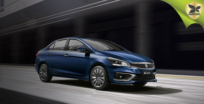 All New 2018 Maruti Suzuki Ciaz Launched In India With Starting Price Of Rs 8.19 lakhs