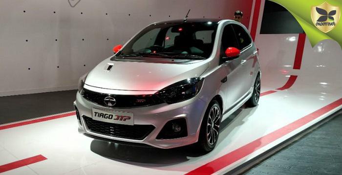 Tata Tiago JTP Spied Testing First Time
