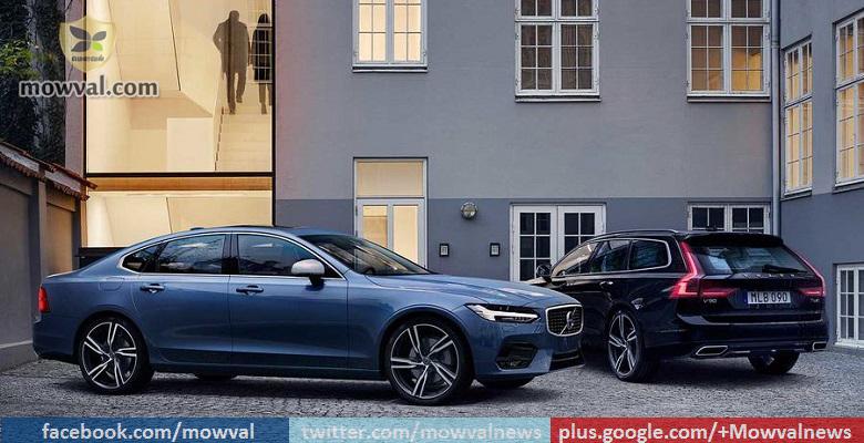 Volvo S90 & V90 R-Design Models Unveiled
