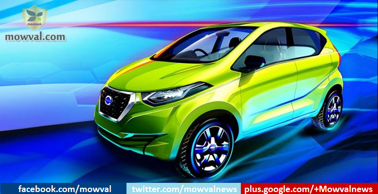 Datsun released the sketch of Redi-GO: Launching on April 14